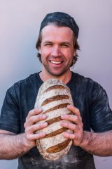 Baker Ben Gower at Geelong's Born & Bread.