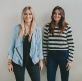 Melany McBride and Amy Parfett had 'nothing to lose' when they started WedShed in their 20s.