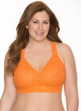 A Plus-Sized Bralette sold by Cacique.