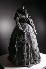 The distressed ballgown from the triple-award-winning Hyeres Festival ensemble of 1993.
