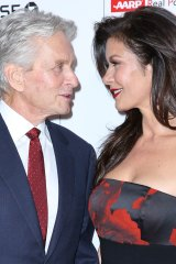 Michael Douglas and Catherine Zeta-Jones have an age difference of 25 years.