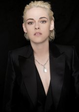 Actress Kristen Stewart poses for a portrait during the 54th New York Film Festival at Lincoln Center.