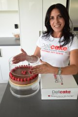 Julie Atoui borrowed $40,000 through her mortgage to fund her start-up Delicake.