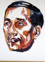 Myuran Sukumaran's portrait of Indonesian President Joko Widodo.