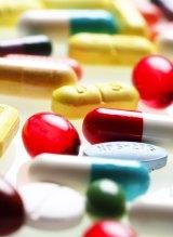 Painkiller tablets.