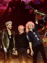 Adam Lambert has been touring with Roger Taylor and Brian May of Queen since 2011.