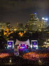Summer Sounds always draws crowds to The Domain.