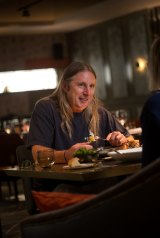 Author Tim Winton at Pascale Bar and Grill.
