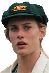 Southern Star and Brisbane Heat fast bowler - and now Brisbane Times writer - Holly Ferling.