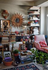 Inside stylist and beauty therapist Linda Rodin's home.