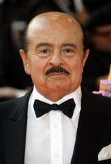 Adnan Khashoggi at at the Cannes film festival in 2008.