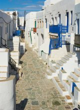 Folegandros is small, beautiful, rugged and relaxed.