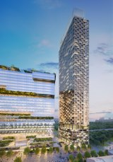 Walker will continue to negotiate to have height restrictions lifted for the Aspire tower.