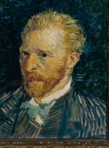 Self portrait of Vincent van Gogh, who took his own life after living with mental illness.