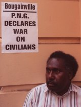 Moses Havini was dismayed by the lack of concern Australians displayed for his homeland's plight.