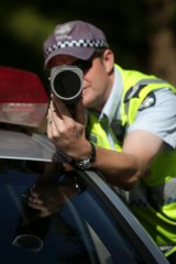 Police officers regularly estimate drivers' speeds, according to Commissioner Ian Stewart.