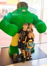 The massive Hulk was a smash.