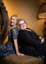 From colleagues to friends: Durack and Szubanski became close during filming.