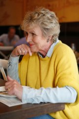Heather Ewart at lunch at Salona, her local favourite in Richmond.