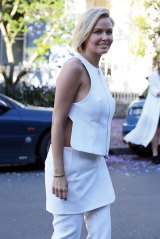 Lara Bingle's wardrobe choices have spurred on pregnancy rumours.