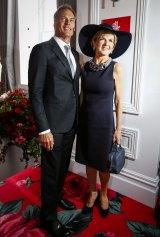 Julie Bishop and David Panton.