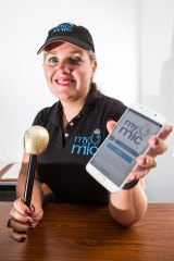 Deirdre Porter is searching for backers for her MyMic app.