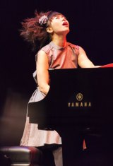 Japanese pianist Hiromi.