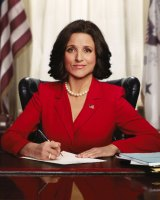 Continuity and change: Julia Louis-Dreyfus in Veep.