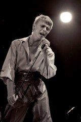 """During that period, when I was working against the grain, I made some wonderful albums..."" David Bowie in concert at the Sydney Showground, 1978"