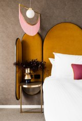 Some suites at Ovolo The Valley Hotel, in Brisbane's Fortitude Valley, were inspired by the 1970s glam of David Bowie.