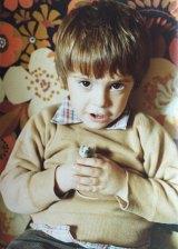 Matthew De Gruchy as a child.