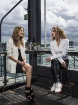 Danielle Cormack (right) tells Kate Waterhouse about working on stage and preparing for a role.