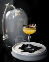 The Smoking Marshmallow Colada could be the ultimate theatrical drink.