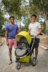 The falling dollar has hurt pram maker Rozibaby, founded by Tahir Baig and Rosh Ghadamian.