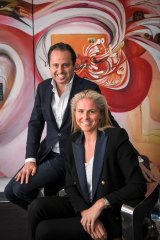 Mark and Melissa Peters are the founders of Tribe Hotels.