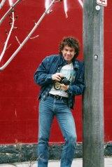 Rennie Ellis in the 1980s.