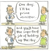 <i>Illustration by Cathy Wilcox</i>
