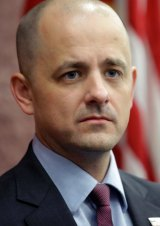 Independent presidential candidate Evan McMullin.
