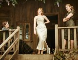 Sarah Snook wearing the 'Seals the Deal' frock in The Dressmaker.