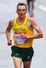 Gold medal winner Michael Shelley.