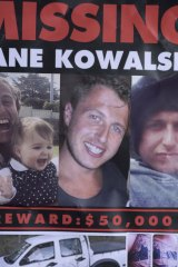 A poster distributed by friends of Dane Kowalski.