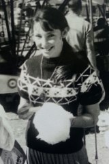 Researcher: Independent scholar and Australian lollies expert Toni Risson with fairy floss.