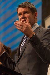 Former Deutsche banker and now NSW Premier Mike Baird.