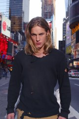 Travis Fimmel in Tarzan; earlier in his career, he had been hired on the spot by a LA modelling agency.