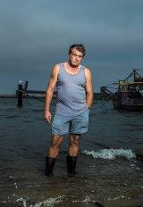 Fisherman Kevin Radnidge at the Stockton Prawners Club.