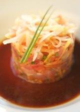 Samoan tuna tartare.