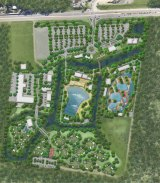 Plan for the $90 million theme park for the Sunshine Coast.
