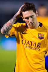 Messi said last month he was quitting international soccer.