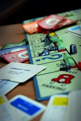 In a Berkeley study, players with the advantage in a rigged game of Monopoly believed their success was earned.