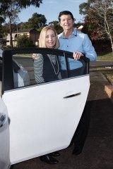 Cheryl and Robert Koenig in Sydney.